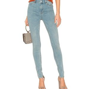 Free People High Rise Long and Lean Jean Size 26 L